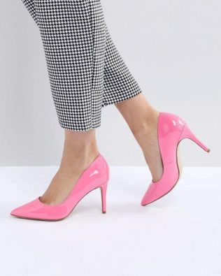 Pointed High Court Shoe