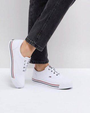 Jeans Stripe Sole Plimsolls